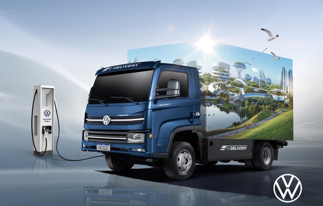 caminhões elétricos com baterias com nióbio