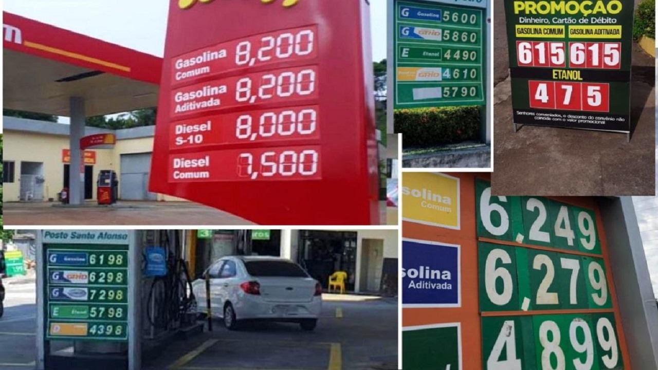 ANP - gasolina - combustíveis