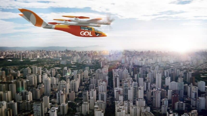 Embraer - Azul - Gol linhas aeres - carros elétricos voadores