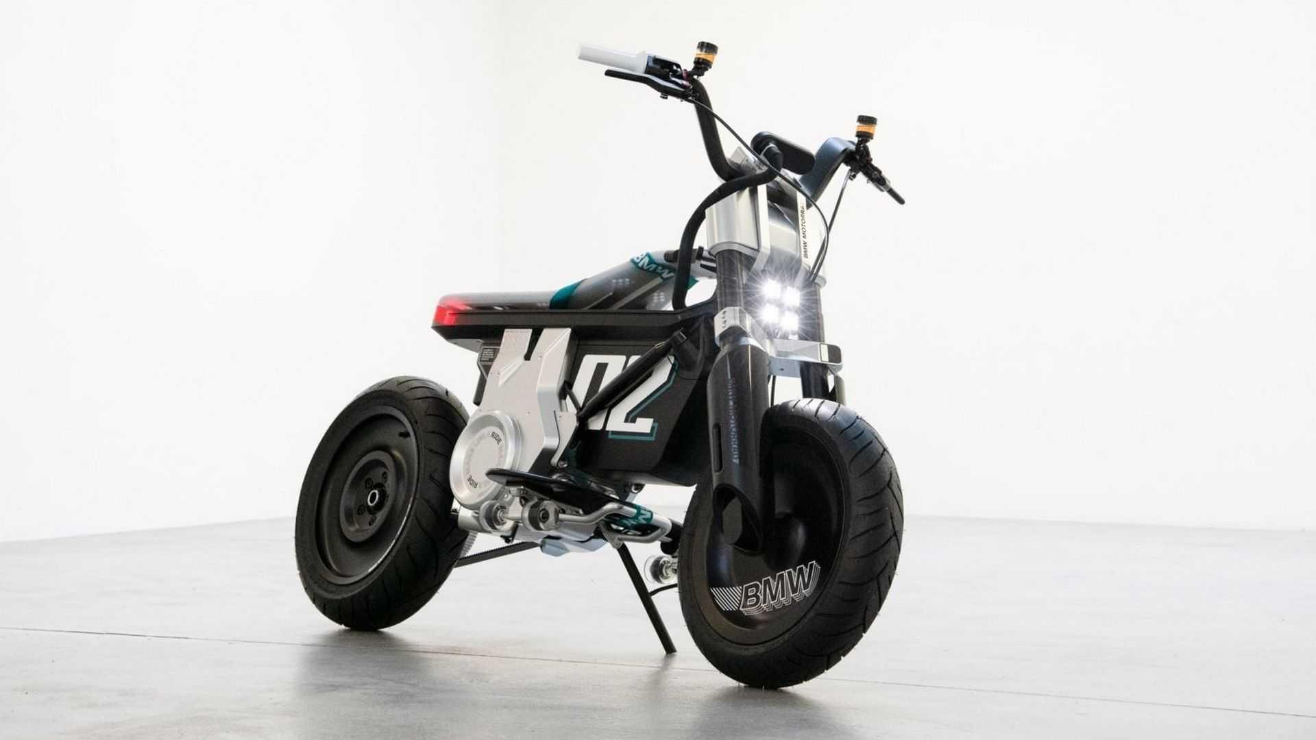 BMW - moto elétrica - CNH - autonomia