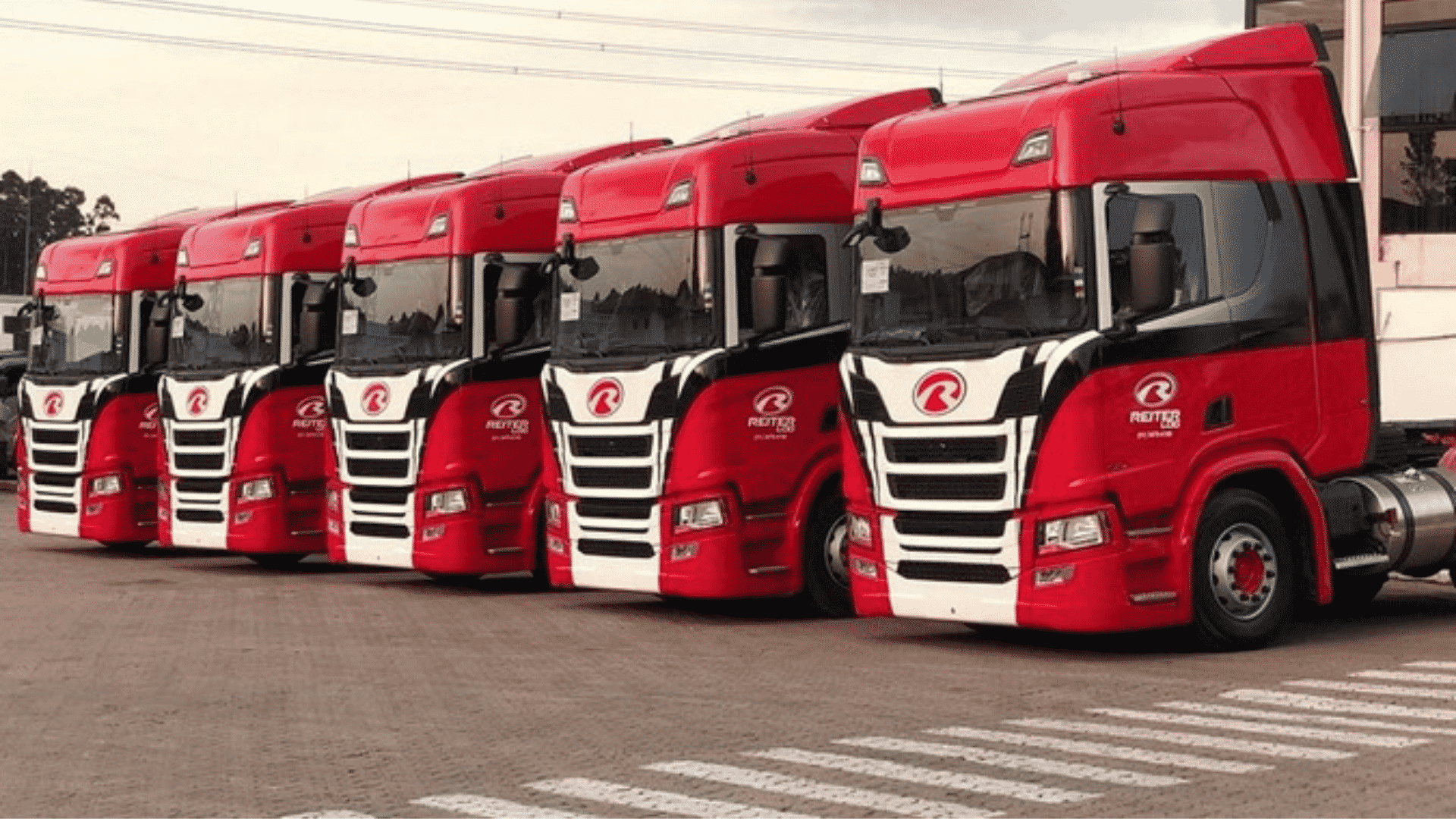 Scania – caminhões – gás