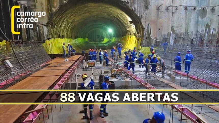 camargo corrêa - construção civil - emprego - vagas - ensino fundamental