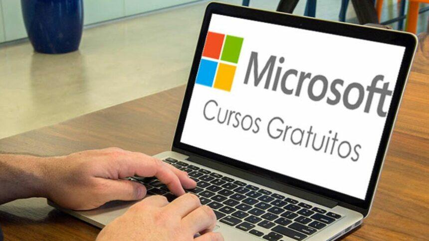 cursos gratuitos - microsoft - EAD - certicação microsoft - empregos - vouchers