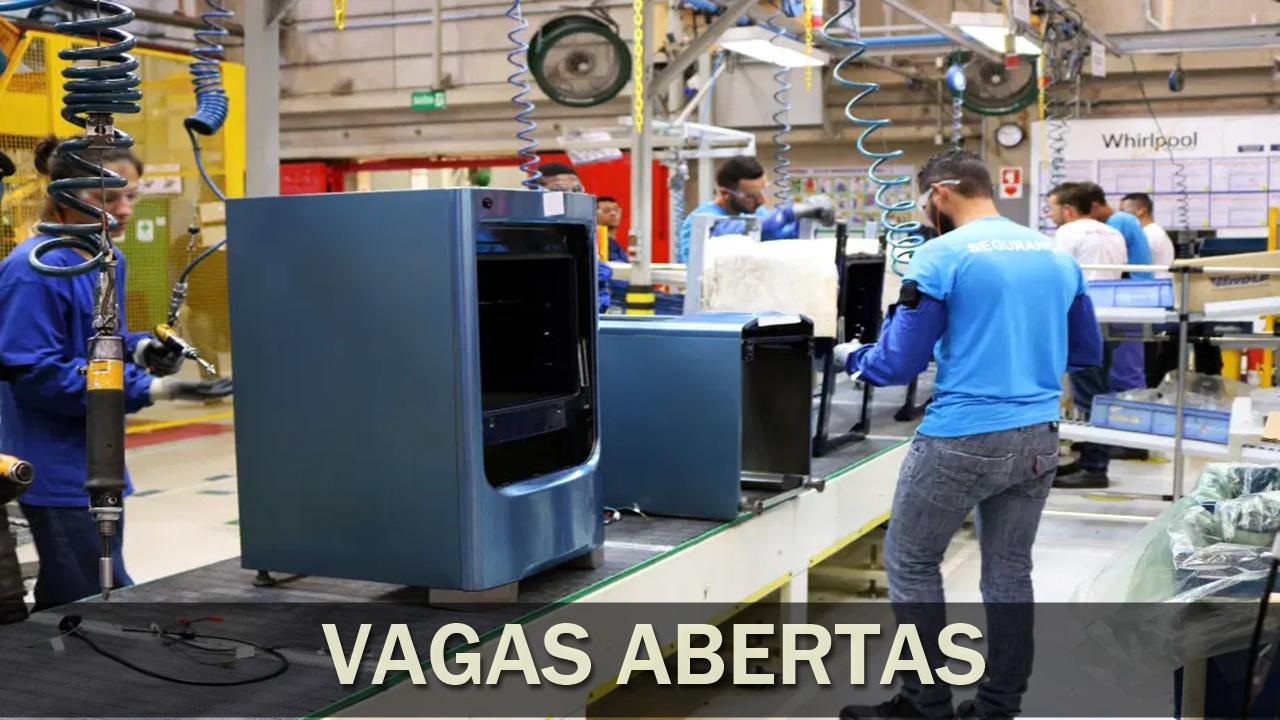 vagas de emprego - brastemp - consul - eletrodomésticos - fábrica - são paulo - santa catarina - amazonas - estágio - técnico - sem experiência