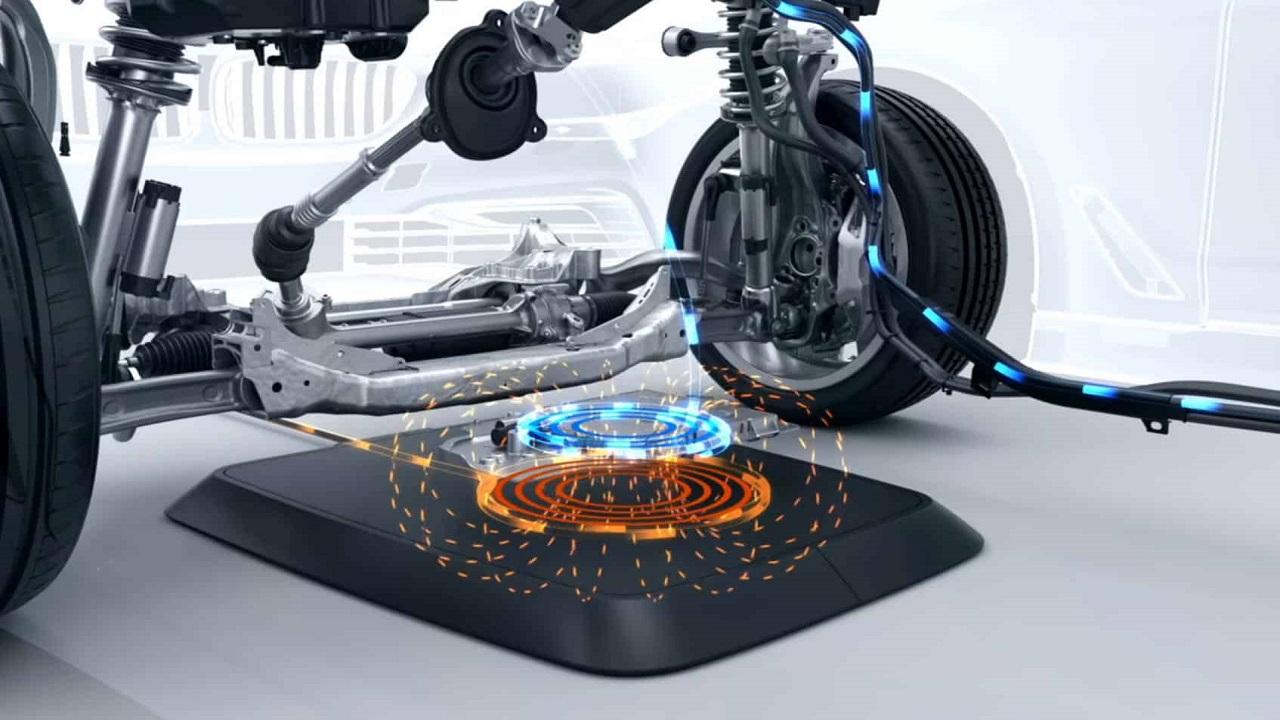 concreto - carros elétricos - smartphones - carregamento