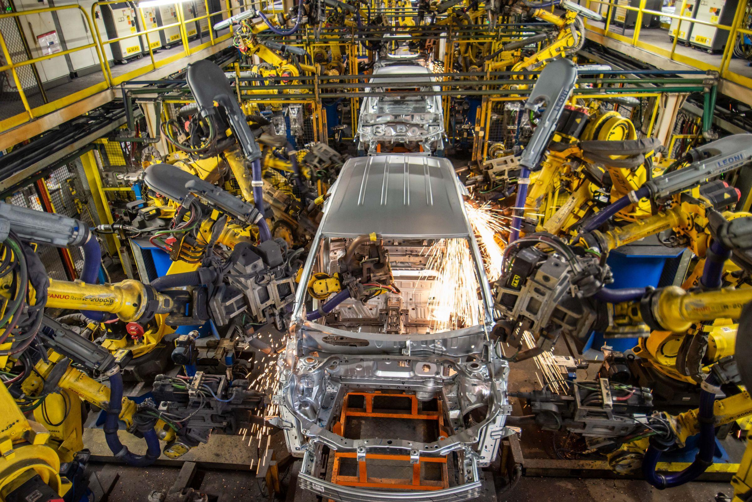 Fábrica – GM – produção