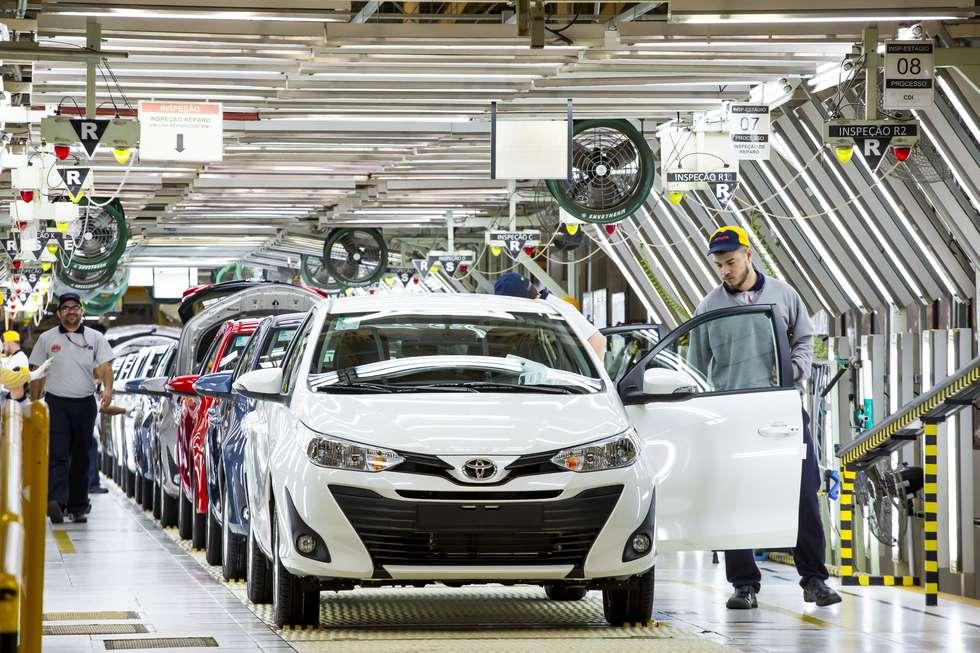 Fábrica – Toyota – São Paulo – empregos
