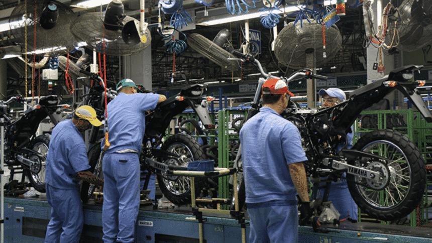 Fábrica – produção – Yamaha