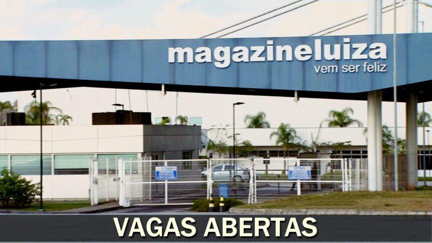 emprego - guarulhos - sp - magalu - magazine luiza - centro de distribuição