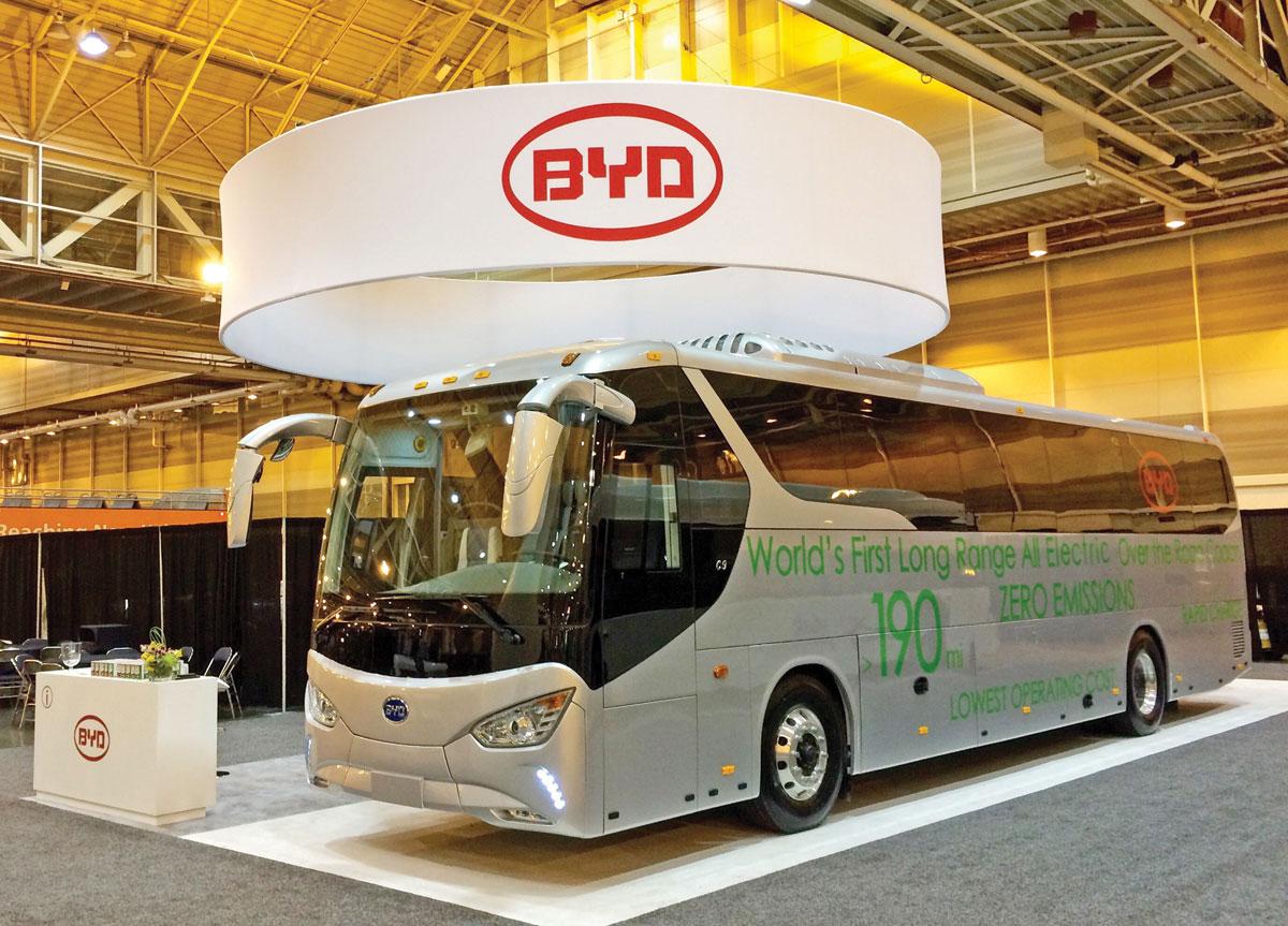 Montadora - BYD - ônibus elétricos - China