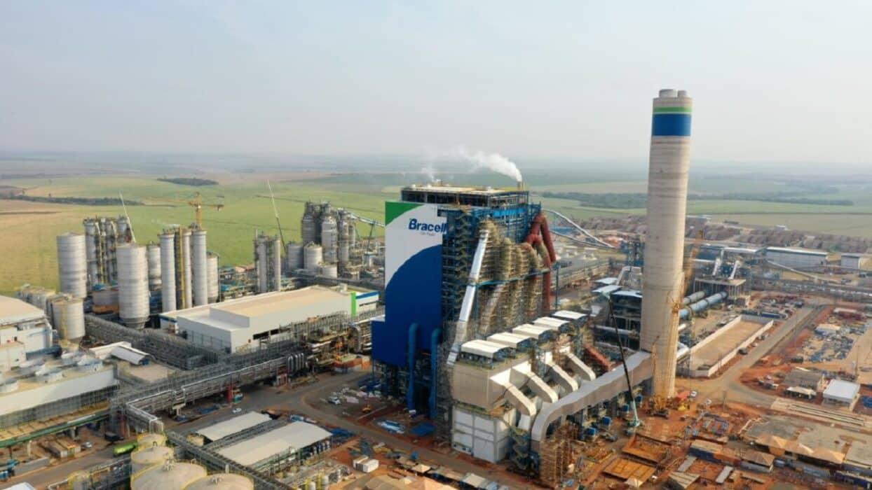 Bracell - fábrica - SP - multinacional - celulose