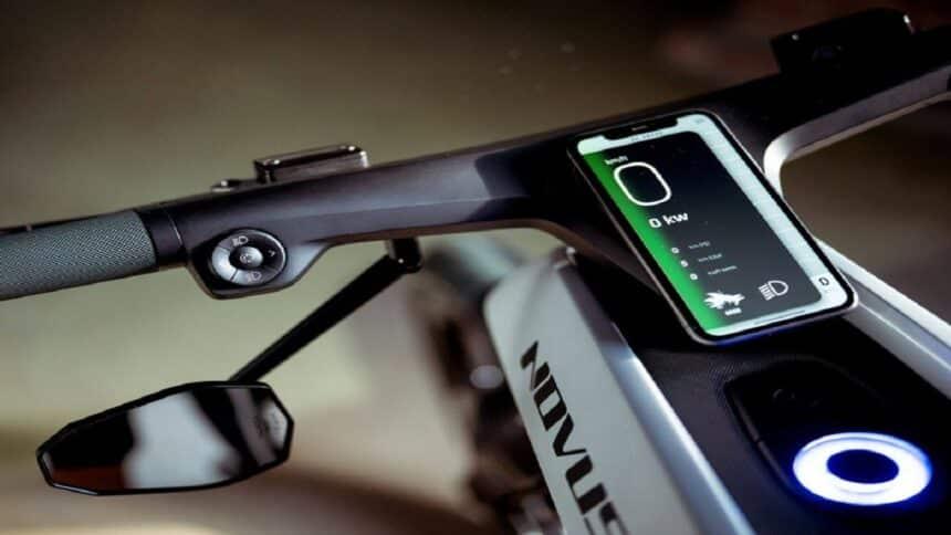 Novus One - moto elétrica - Pop