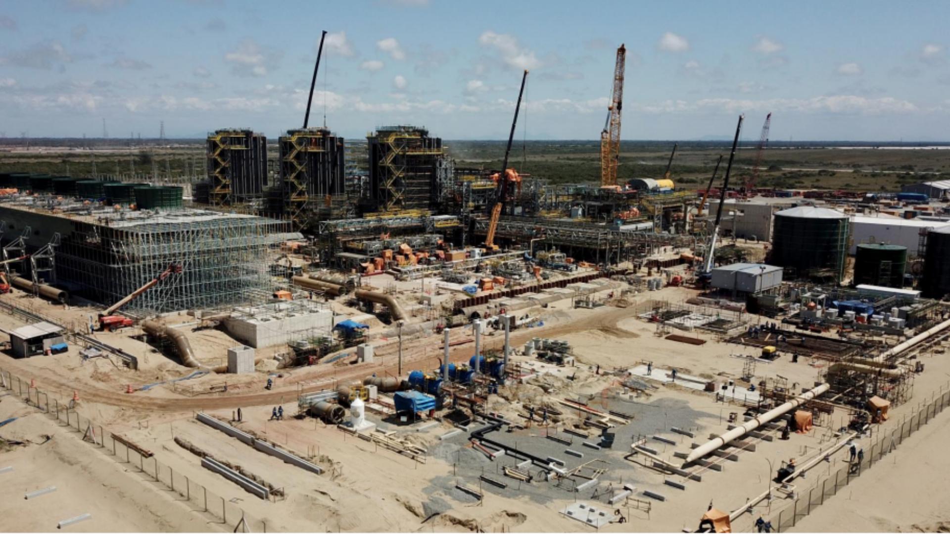 Termelétrica – obras – Porto do Açu – emprego