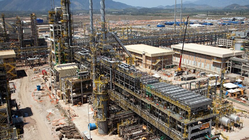 Obras - Comperj - UPGN - Petrobras -