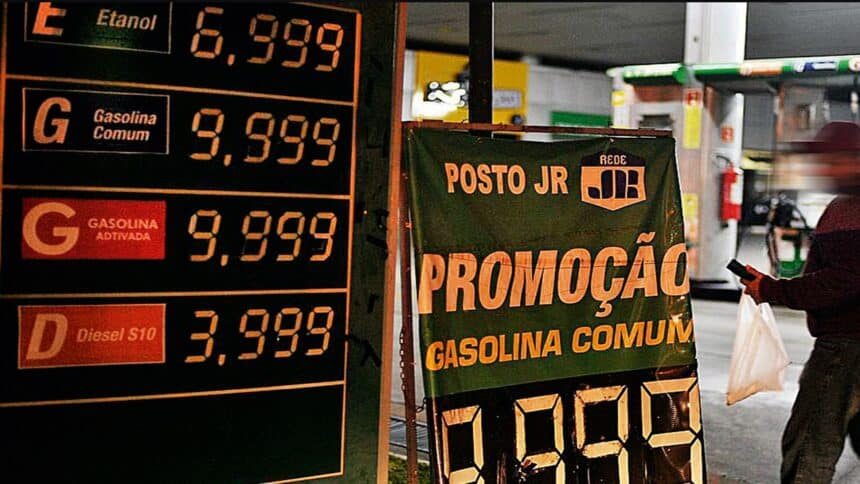 Gasolina - postos de gasolina - combustível - caminhoneiros - greve dos caminhoneiros