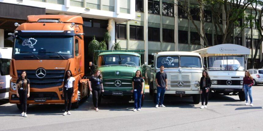 Mercedes-Benz – estágio – São Paulo - Minas Gerais