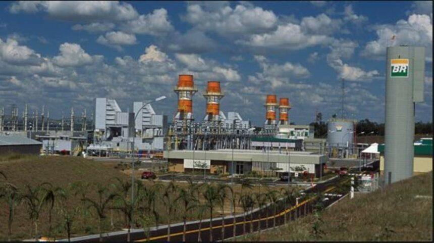 Termelétrica – usina – Petrobras