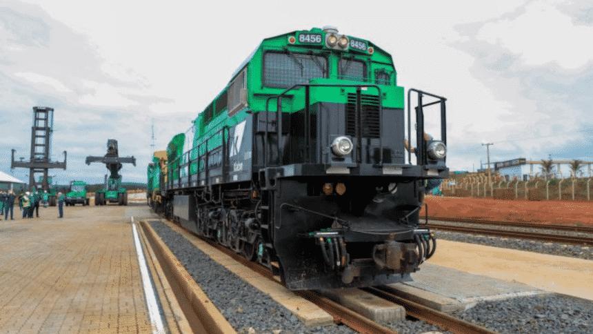 Klabin – terminal ferroviário – Paraná
