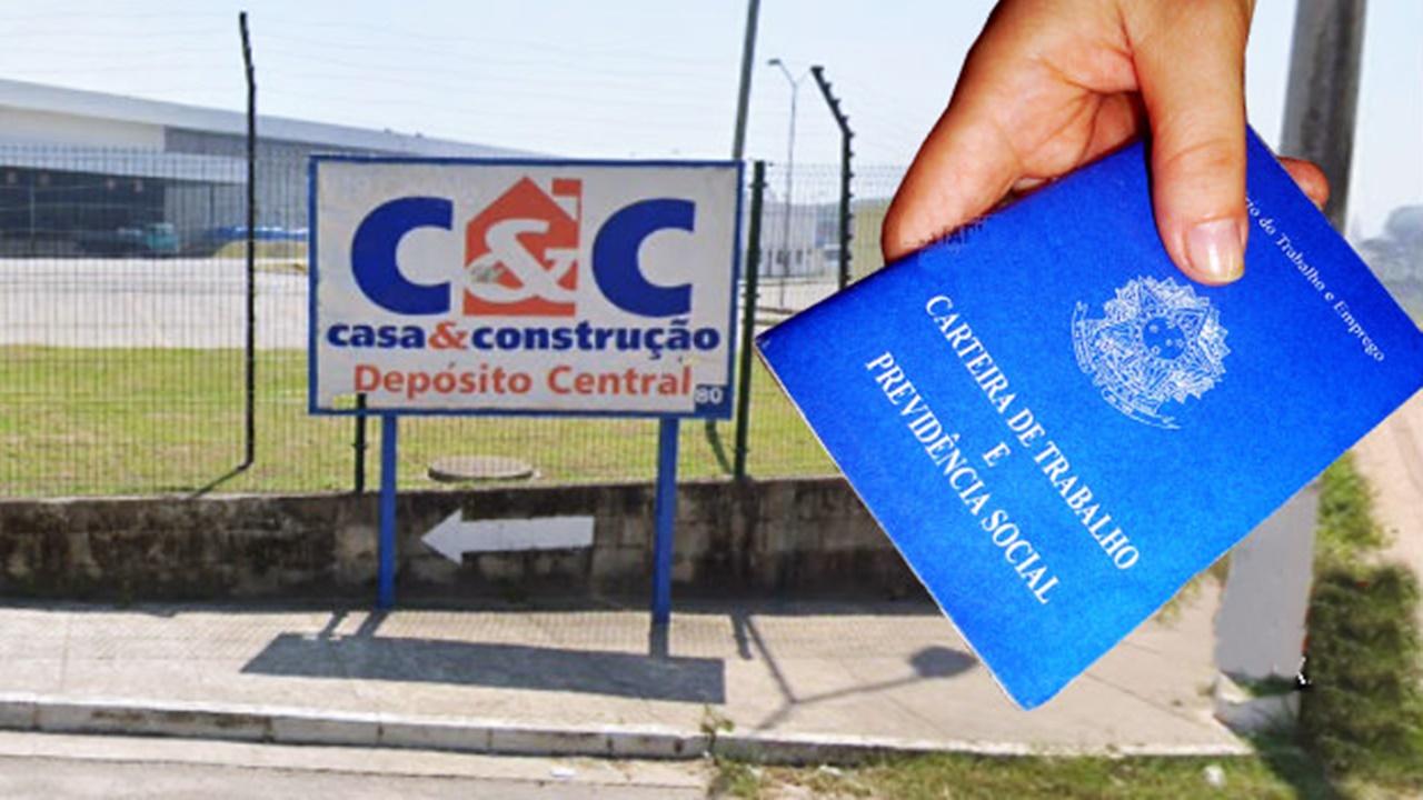construção civil - emprego - rj - sp - es - vagas - c&c