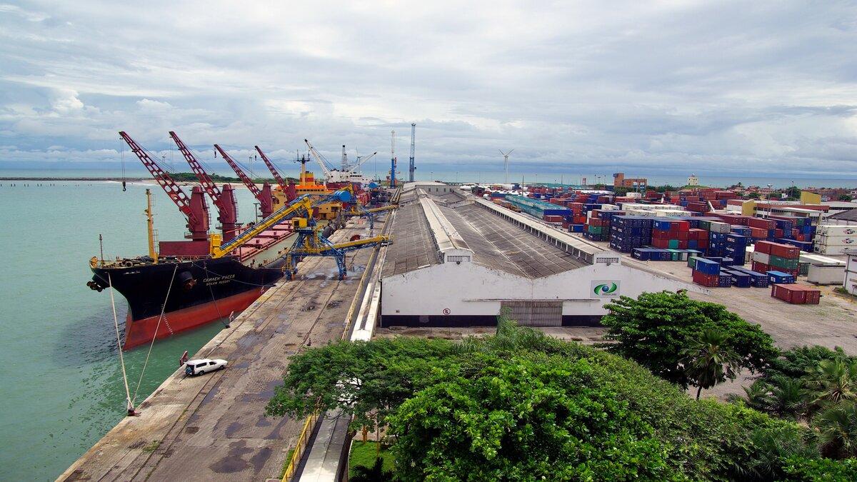 Com 4,9 milhões de toneladas em movimentação de cargas, Companhia Docas do Ceará recebe prêmio no evento Portos+Brasil pelo desempenho do Porto do Mucuripe