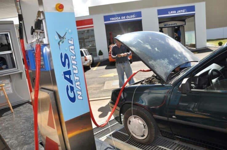 gás natural gasolina combustível