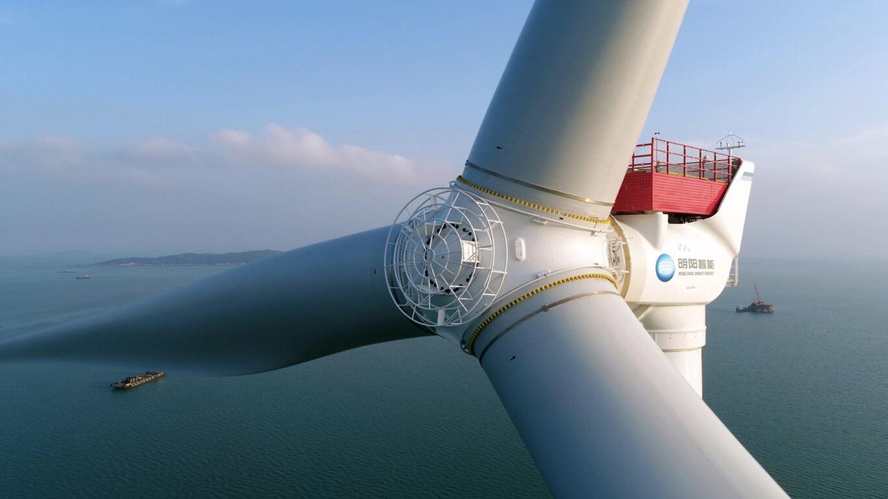 turbina - eólica - usina - energia renovável - painéis solares - General Electric - china - eua