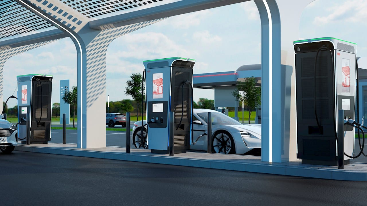 Carro elétrico, veículo elétrico, carregador