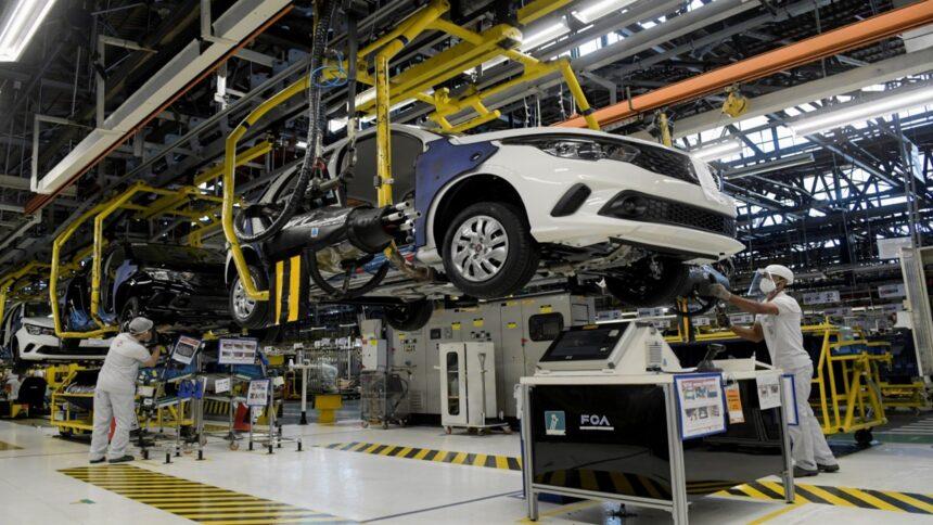 indústria automotiva -