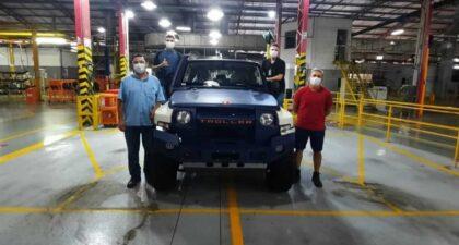 Ford - troller - jipe - produção - ceará - preço