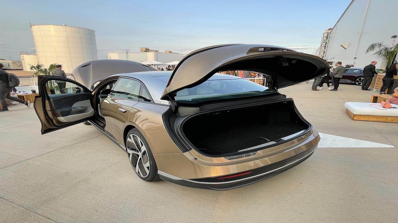 Sedã elétrico - sedã- carro elétrico - autonomia - Air Lucid