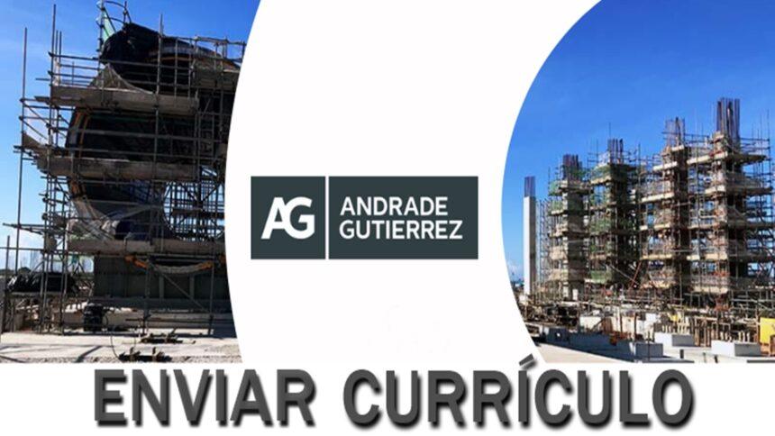 emprego - trainee - engenharia - sem experiência - andrade gutierrez - construtora - construção civil