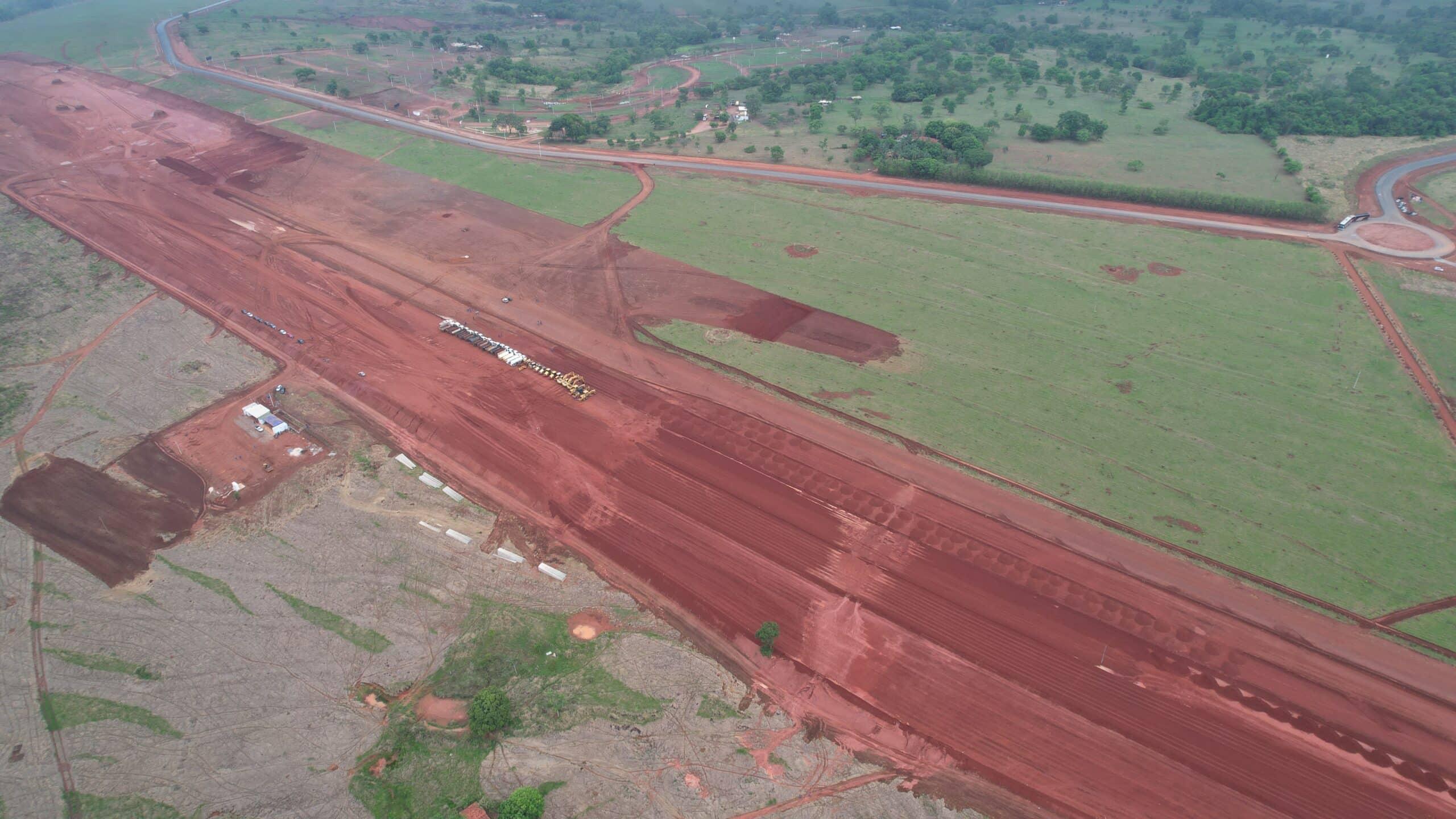aeroporto - obras - empregos - goiânia - aparecida