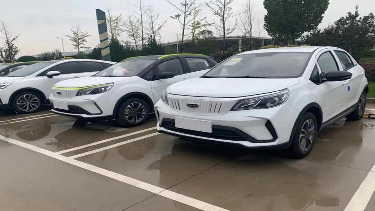 SUV - Volvo - SUV eletrico - carro elétrico - Geely - Geometry