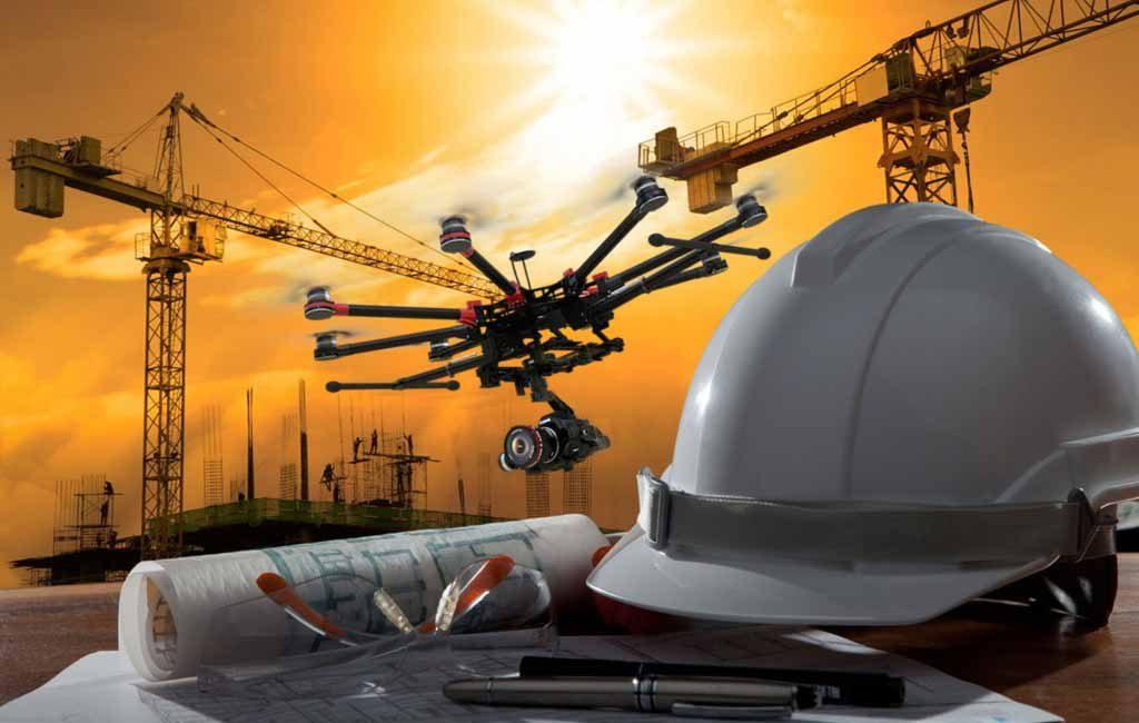 Construção civil – drones