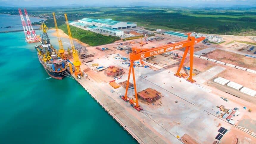 Construção – navio – Estaleiro Jurong – empregos