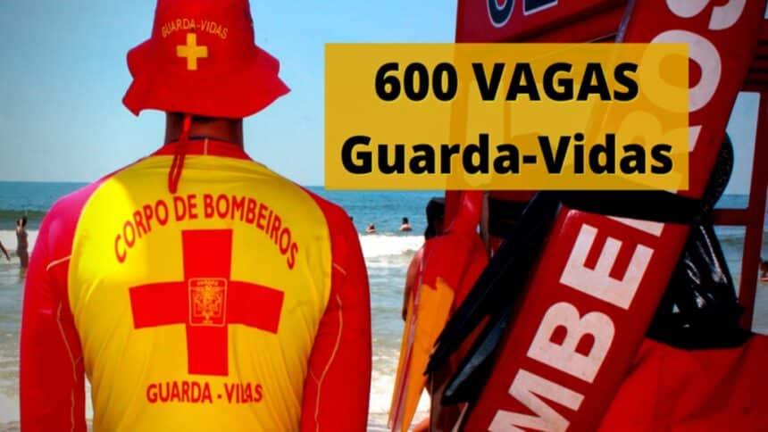 vagas - são paulo - guarda-vidas - ensino fundamental - bombeiro
