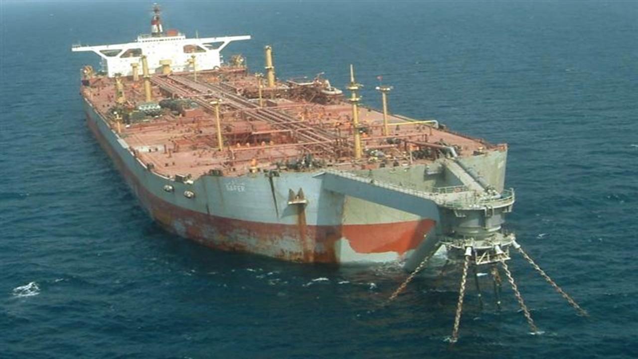 navio petroleiro - petróleo - mar vermelho - FSO Safe Oil Tanker - disaster