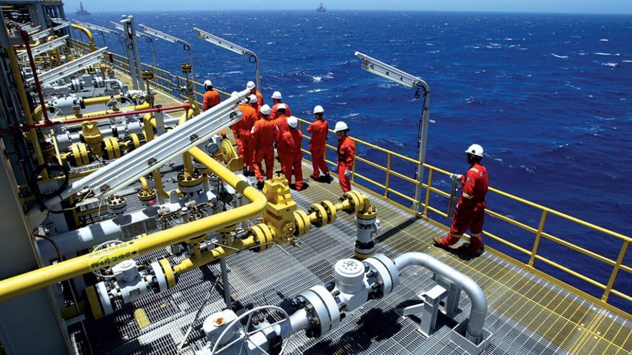 petróleo e gás - petrobras - bacia de campos