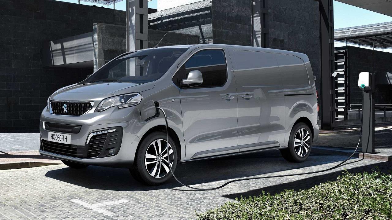 Veículo elétrico - van - van elétrica - Peugeot