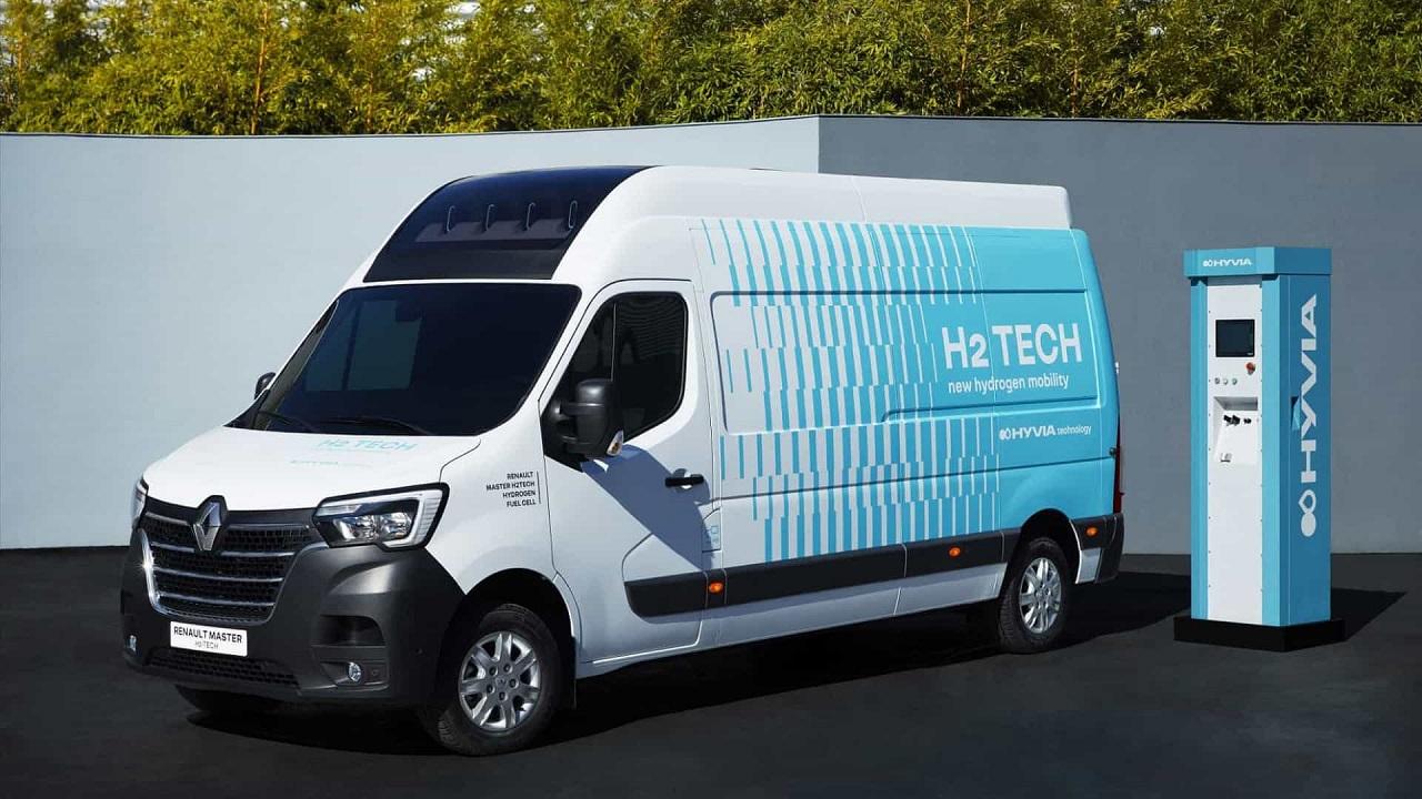 Renault - hidrogênio - célula de hidrogênio - carro movido a hidrogênio - van