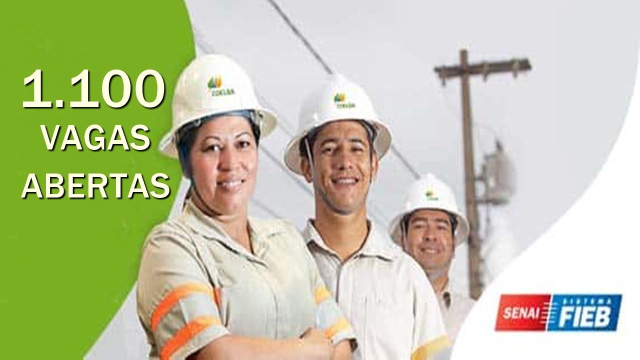 SENAI - vagas - cursos gratuitos e online - cursos com certificados - bahia - construção civil
