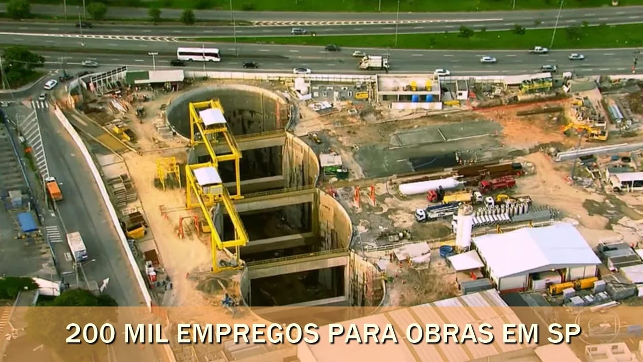 são paulo - empregos - obras - infraestrutura - investimentos - construção