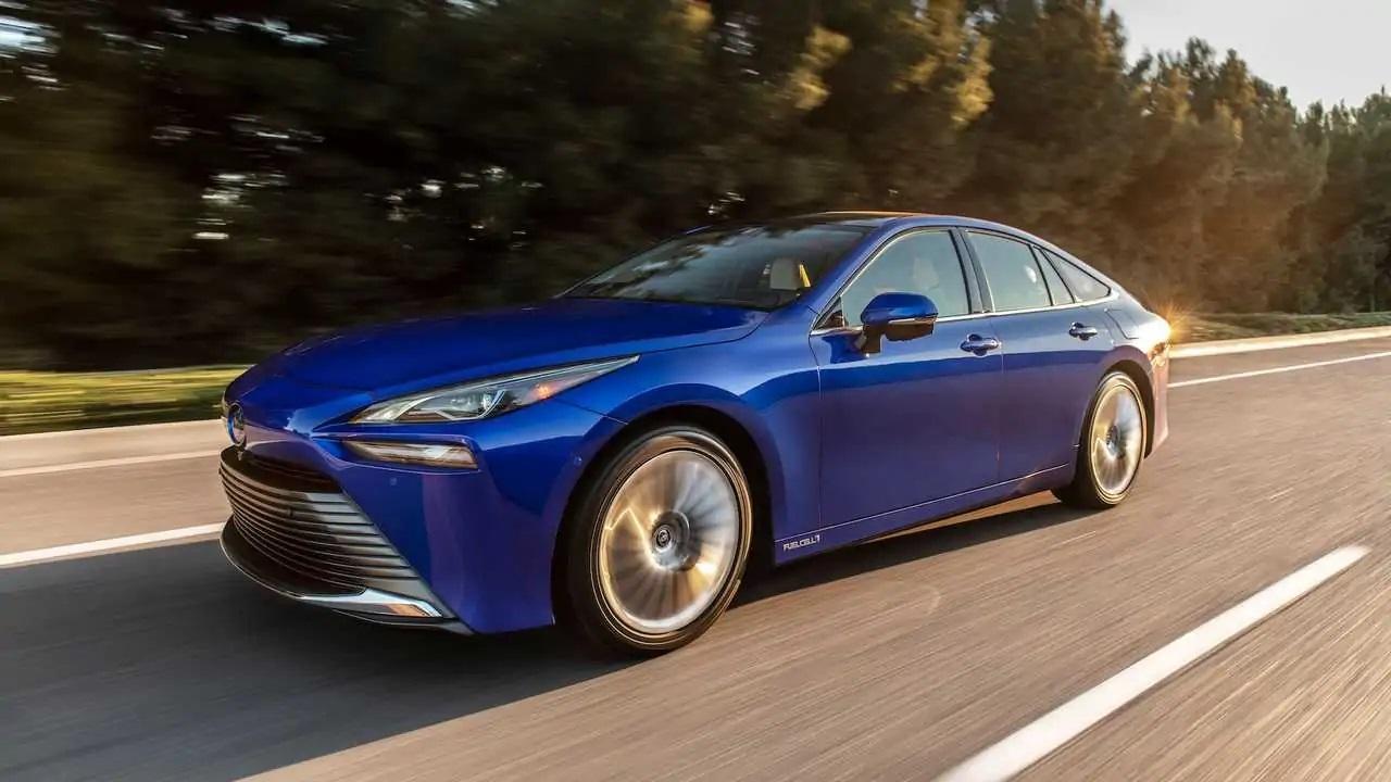 Sedã - Toyota - carros elétricos - Toyota Mirai - hidrogênio