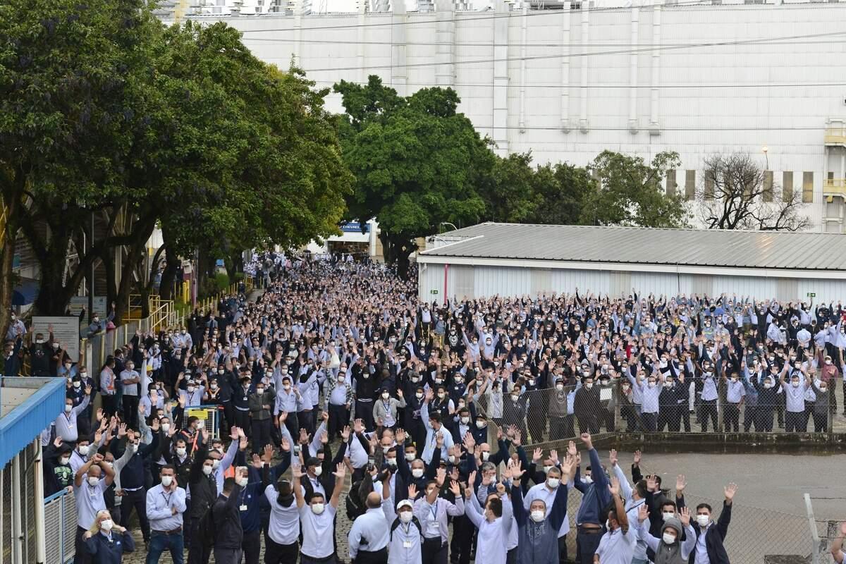 GM – São Paulo – greve – metalúrgicos