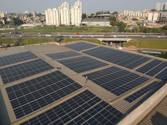 Usina – energia solar – São Paulo