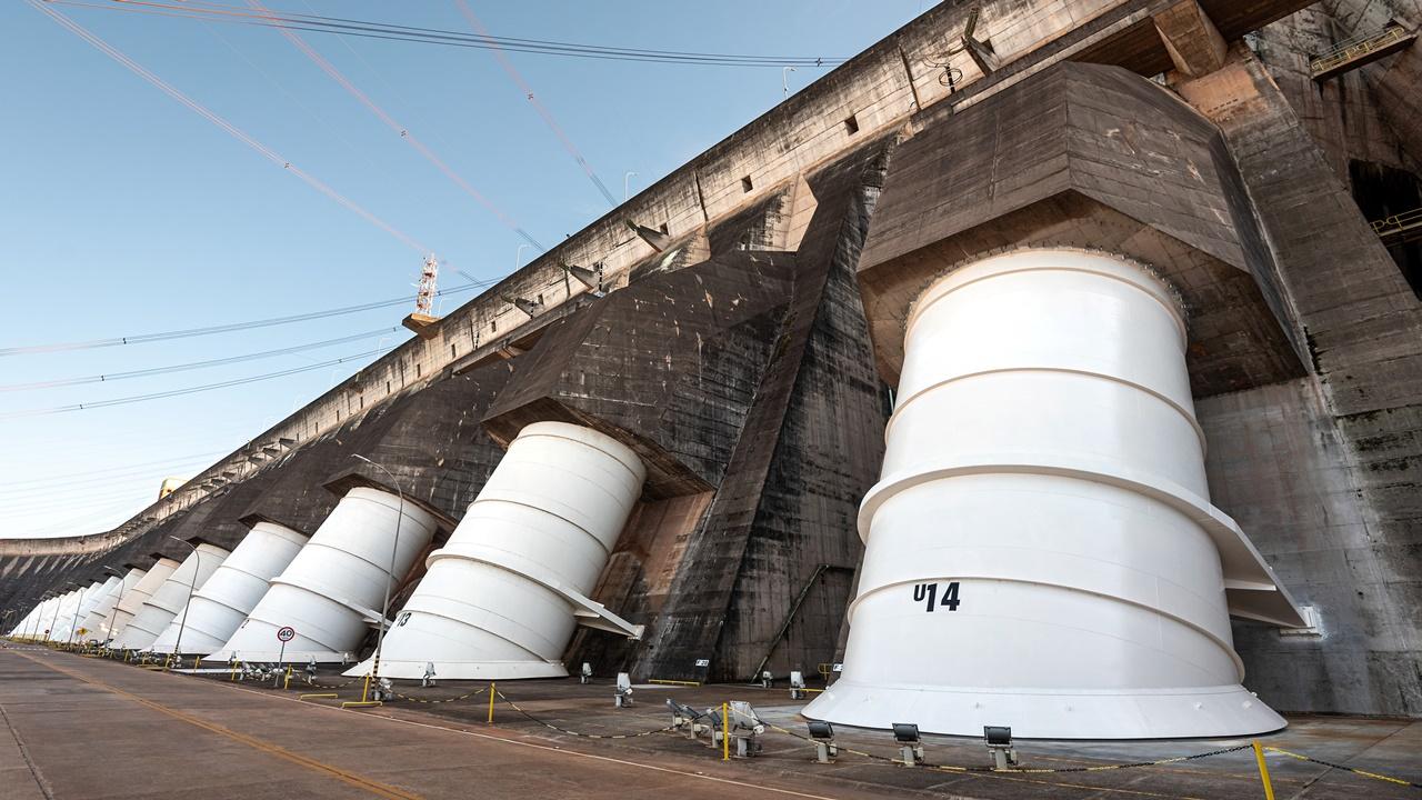 energia - usina - itaipu - hidrelétrica - binacional