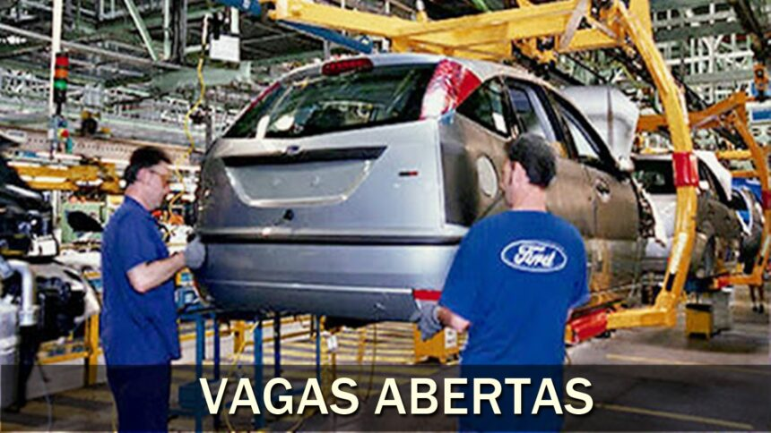 Ford - volkswagen - vagas - cursos gratuitos - ba - sp - motors