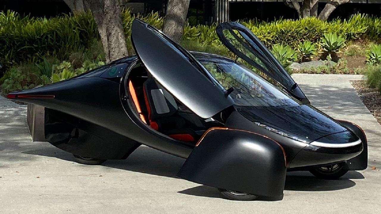 Carro elétrico - Aptera - energia solar -