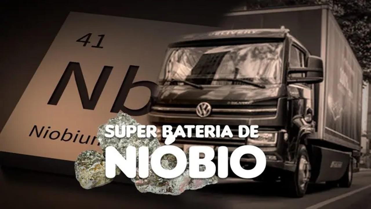 grafeno - nióbio - grafite - tecnologia - volkswagen - caminhões - bateria
