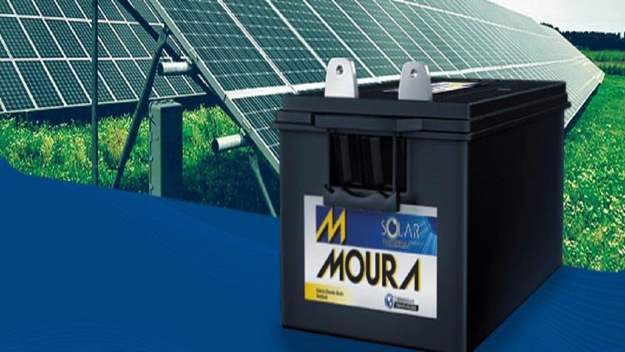 Bateria - energia solar - Grupo Moura
